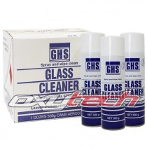 GHS Glass Cleaner Professional Strength (12 Cans)