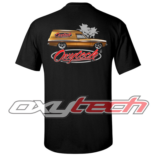 T-Shirt - Panel Van (Black)
