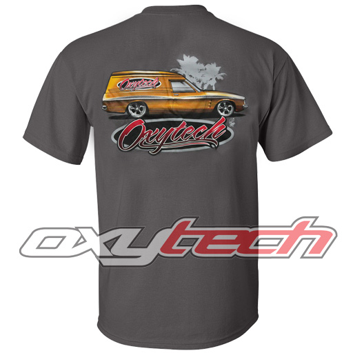 T-Shirt - Panel Van (Grey)