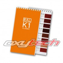 RAL Classic K1 Booklet